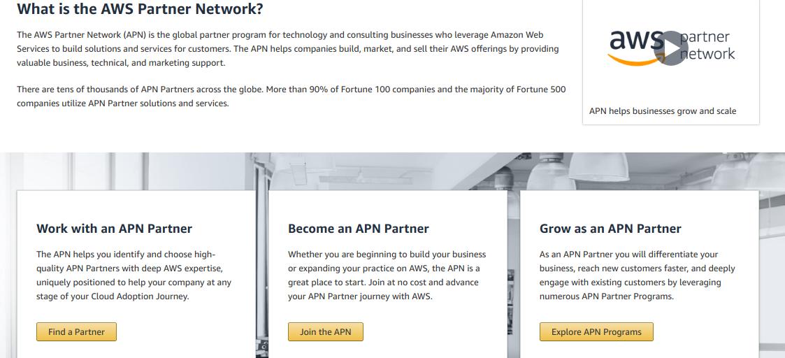 Aws Partner Network (apn) Is The Global Partner Program