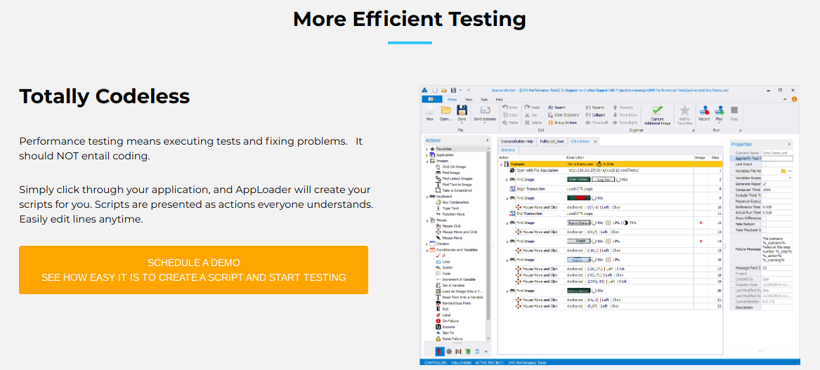 Automai Software Quality Assurance Load Testing Apploader