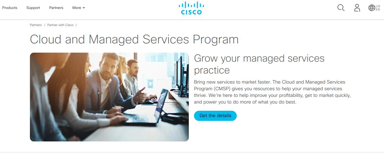 Partner Cisco Managed Services Program Cmsp